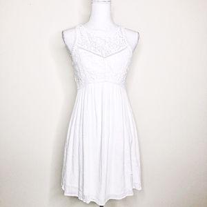 Abercrombie & Fitch White Boho Sundress